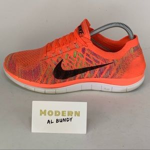 Nike Free RN 4.0 Flyknit Barefoot Running Shoes